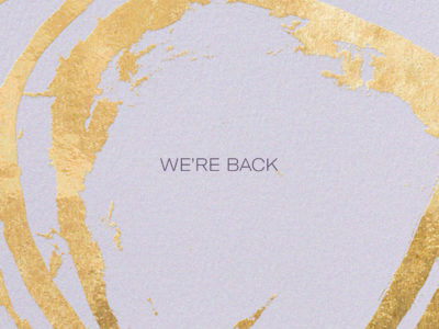 We're Back: Our Re-Opening Plan & Promise